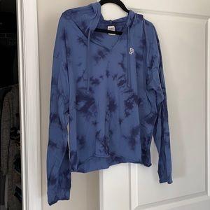 PINK crop sweatshirt